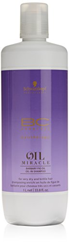Schwarzkopf Shampoing BC Oil Miracle enrichi en Huile de Barbary Fig, pour Femme 1000 ml