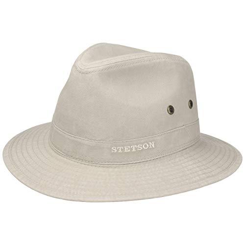 e2264c430 Stetson Sombrero Organic Cotton Traveller Hombre | de Tela Sol con Forro  Primavera/Verano