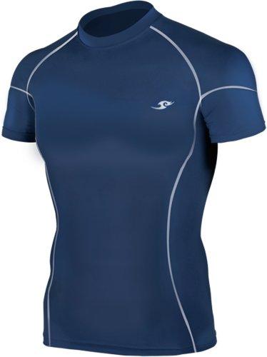 new-take-five-base-layer-da-uomo-compressione-skin-calzamaglia-031-navy-sport-top-navy-l