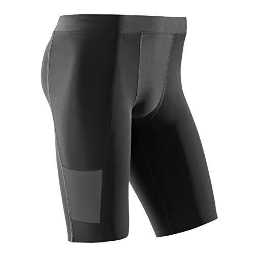 CEP - Training Shorts für Herren | Kurze Trainingshose mit echter Kompression in schwarz | Größe XL