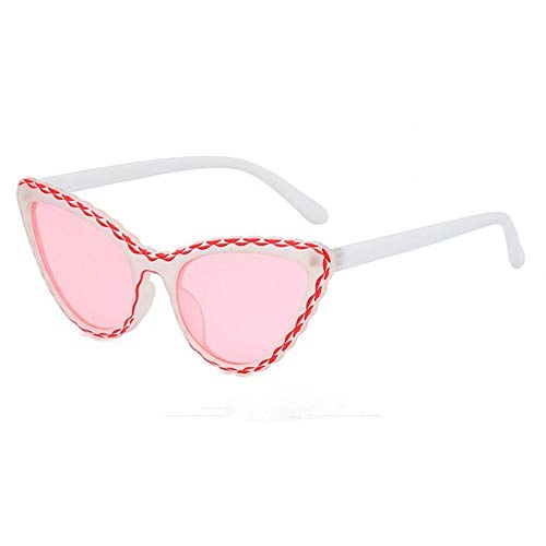 WZYMNTYJ cat Eye Sonnenbrille Frauen dreieck Rahmen uv400 linse Vintage Marke Sonnenbrille Shades für Frauen oculos