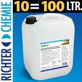 BioFair® concentrado para la limpieza fotovoltaico Instalaciones en la base de caña de azúcar.–10litros–muy duradero. 1: 10–Gastos de Envío libre.