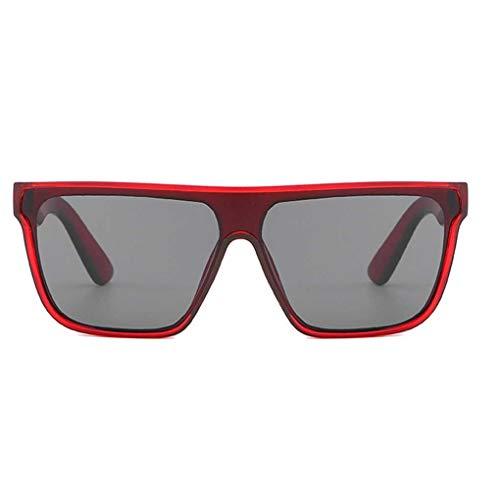 BoburyL UV400 Schutz Quadratisch Sonnenbrille Frauen Männer Unisex-Brillen Mädchen Brillen AC-Objektiv PC-Rahmen