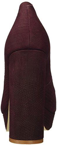 Buffalo Zs 6024-15 Minilizard, Escarpins femme Rouge - Rot (oxblood 01)