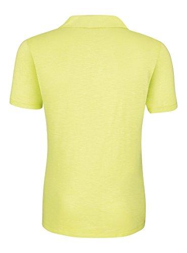 Maratus Herren Bio Poloshirt mit Modal Fair Wear Sunny Lime