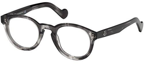 Moncler ML5006, Occhiali da Sole Unisex-Adulto, Grigio, 48.0