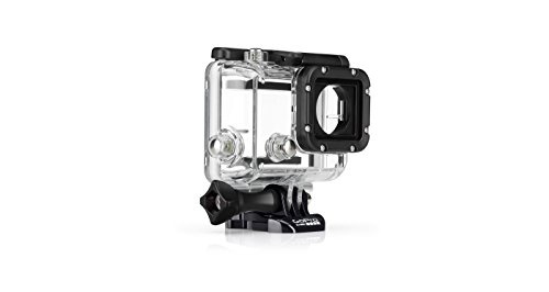 GoPro Dive Housing - Carcasa para Buceo (hasta 60 m) para GoPro Hero4 Black, Hero4 Silver y Hero Session, Color Claro