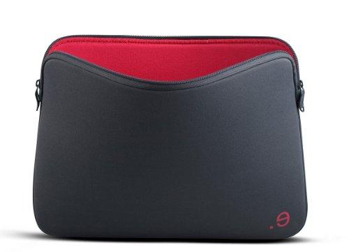 """Be.ez 101108 Housse LA robe GRAPHITE pour MacBook Pro Retina 15"""" Gris/Bordeaux"""