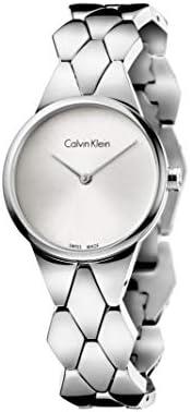 Calvin Klein Dress Watch for Women, Analog, Stainless Steel Band - K6E23146