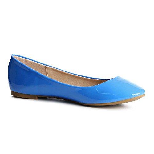 topschuhe24, Ballerine donna Blu (blu)