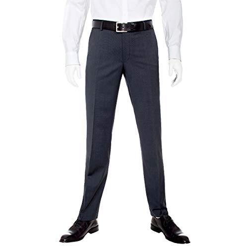 Benvenuto Purple - Regular Fit - Herren Baukasten Hose für modernen Business-Anzug, Maranello (20659, Modell: 20084)