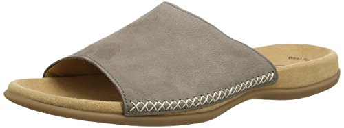 Gabor  Eagle,  Damen Clogs , Braun - Brown (Braunes Nubukleder) - Größe: 9.5 UK (44 EU) -