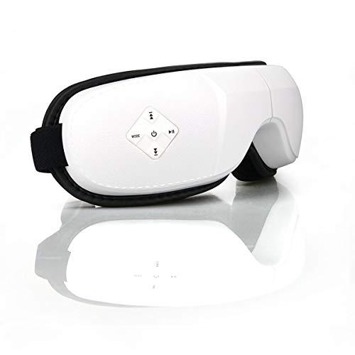 Apparatur Schlafmaske Schlaf/Schlaf Anti-Lärm Schlaf & Augenringe Augenmaske Augenmassage Heizung Entspannung Maske Schlafgerät mit Luftdruck Bluetooth Musik USB