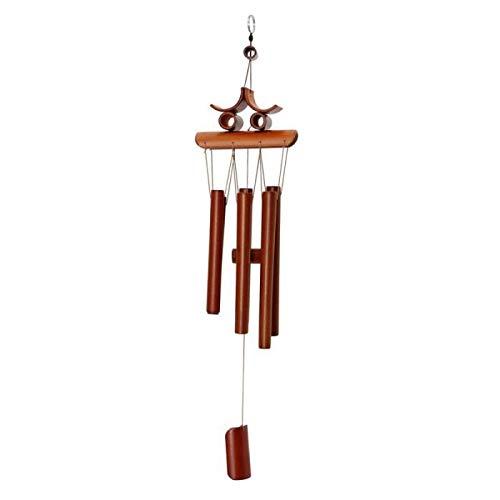 DOUERDOUYUU Personalidad de la Moda Campanas de Viento de bambú Hechos a Mano del jardín de los carillones de Viento del Campanas de Viento del Campanas de Viento de bambú del jardín