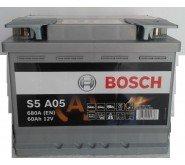 Preisvergleich Produktbild Bosch 0092S5A050 Batterie AGM 12 V 60 mAh 680 A B13