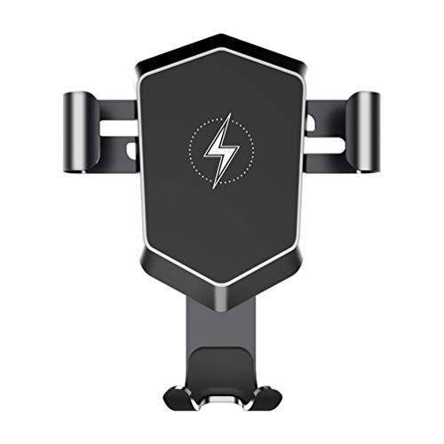 YUHT Handyhalter fürs Auto, automatische-klemmung 10W Fast Charging Wireless Ladestation Auto Halterung Ultra stabil Lüftung KFZ Halterugfür Samsung Galaxy Note 10/iPhoneXS/XR/X Usw, Black