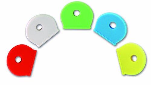 chapuis-tecle1-confezione-di-5-copri-chiave-in-pvc-colori-assortiti-larghezza-interna-di-17-mm