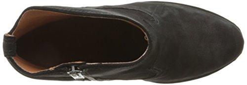 Frye Madeline Short Rund Leder Stiefel Black
