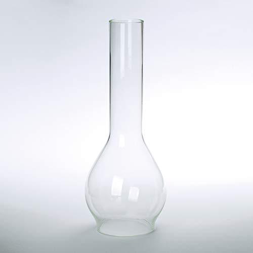 Vesta Schirm Zylinder Glas viele Größen klar Petroschirm Glasschirm Öllampe Glaszylinder (Ø Unten: 45mm) (Glaszylinder Für öllampe)