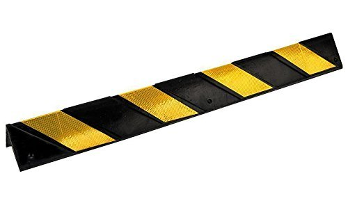 Wandschutz Anfahrschutz Rammschutz Gummi Wandpuffer Eckenschutz Kantenschutz (60cm)