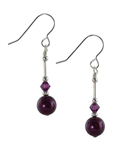 blackberry-purple-swarovski-pearl-crystal-sterling-silver-drop-earrings-with-gift-box