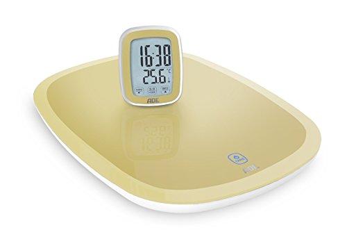 ADE Digitale Küchenwaage KE 1400 Cosma mit Funk-Display (sand)