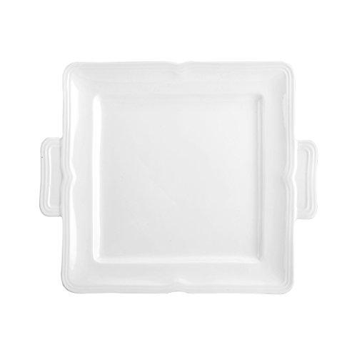Mikasa White Dish (Mikasa Antique White Square Dessert Serving Tray, 11-Inch)