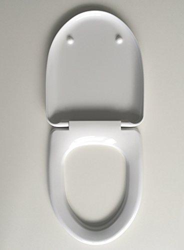 Duroplast WC Sitz Klobrille passend für Keramag Flow