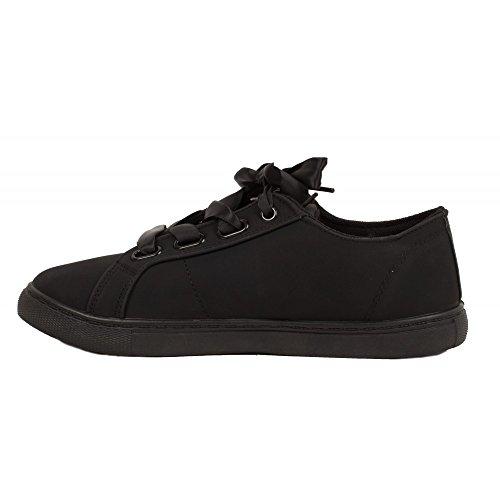 Primtex Ladies Sneaker Nero