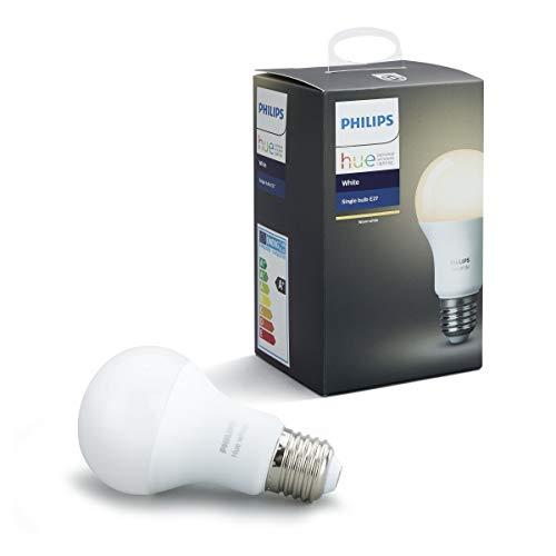 31hjDH6qSBL - Philips Hue White, warmweißes Licht, steuerbar via App, kompatibel mit Amazon Alexa (Echo, Echo Dot)