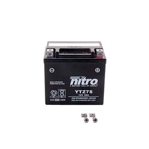 Batterie 12V 6AH YTZ7S Gel Nitro WR 250 F CG30W 08-14 -