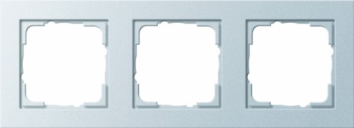 GIRA E2 - interruptores y marcos para enchufes (Aluminio, Termoplástico, Screwless)