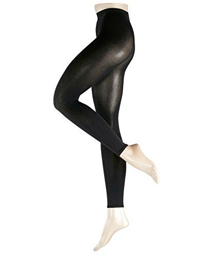 ESPRIT Damen Leggings Cotton, Baumwollmischung, 1 Stück, Schwarz (Black 3000), Größe: 38-40