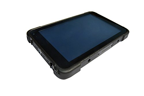Vanquisher 8-Inch 4G LTE Rugged Tablet PC, IP67 Waterproof / Windows 10 OS/ Intel Atom (1 Posteriore Finestra Grafica)