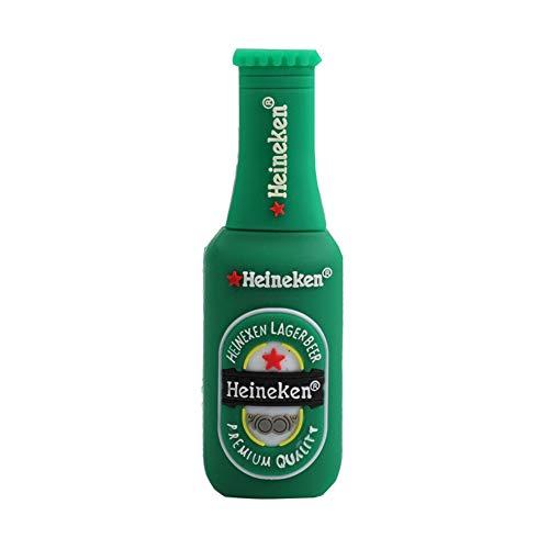 Shuda 1 pcs flash usb pen drive chiavette usb forma della bottiglia di birra 2 gb/4 gb/8 gb/16 gb/32 gb black friday 2018 size 32gb (verde)
