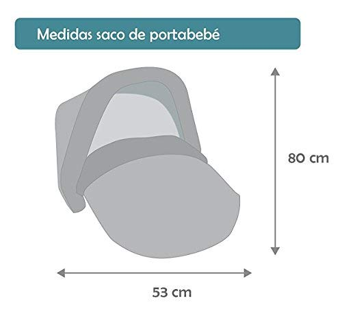Imagen para Saco Portabebé Universal Interestacional + Capota de Regalo!! Últimas unidades!!! (Hippie Choco)