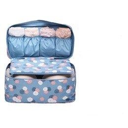 5ce20d14f807 shopo Bra 1 Pc Underwear Lingerie Travel Bag For Women Clothes Storage  Organizer Trip Luggage Traveling Pouch Case Space Saver