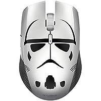 Razer Atheris Stormtrooper Edition Mouse da Gioco Ergonomico a Doppia Mano, 350 Ore di Durata della Batteria, Sensore Ottico 7.200 DPI, 2.4 GHz Adattiva Frequenza Technology, Nero/Bianco