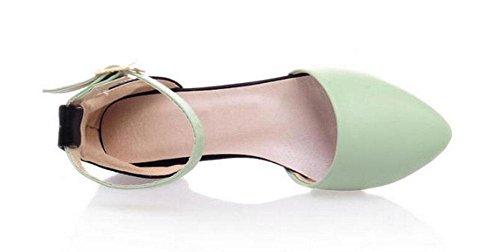 Frauen Sandalen böhmischen Flip Flop Sommer Perle flache Ferse Schuhe Casual Slippers Diamant Sandalen große Größe Schuhe Green