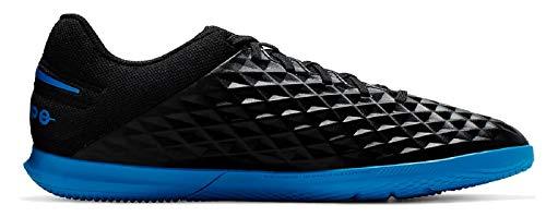 Nike Unisex-Erwachsene Legend 8 Club Ic Fußballschuhe, Mehrfarbig (Black/Blue Hero 4), 44.5 EU