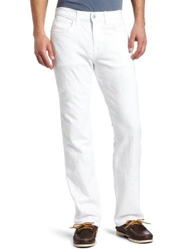 Joe's Jeans Herren Straight Leg Jeanshose Weiß
