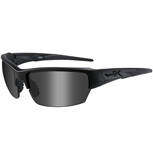2c4e314561 Wiley X WX Saint Gafas Smoke Claro Light Rust Lente Matte Negro Montura