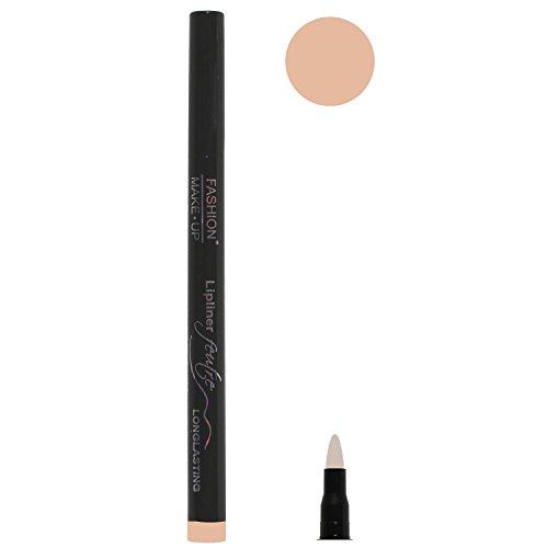 Feutre Semi Permanent Lip Liner - Couleur Chair - Effet Tatouage Contour des Levres Maquillage