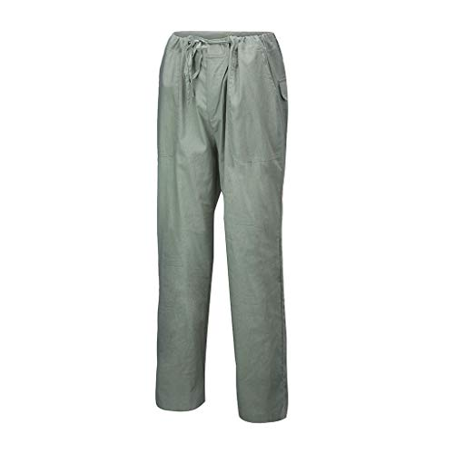 CAOQAO Pantaloni da Uomo Pantaloncini JeansModa Uomo Tasche