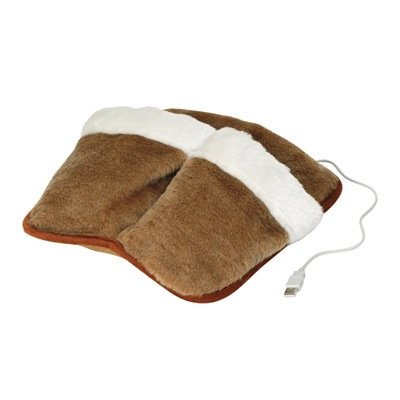 pantofola-riscaldante-scalda-piedi-usb-marrone