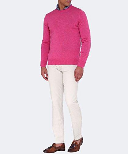 Stenstroms Hommes Pull de laine mérinos col Rose Rose