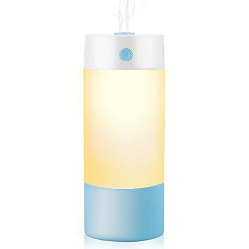 Aroma Verdampfer Diffuser 250ml Luftbefeuchter Aromatherapie Öle Diffusor LED Leichte Nacht Gut für Babies Kinderzimmer Haus, Auto, Wohnzimmer, Schlafzimmer, Büro, Yoga, Spa