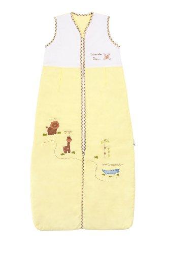 Preisvergleich Produktbild Schlummersack Baby Sommer Schlafsack ungefüttert 0.5 Tog - Zoo - 12-36 Monate/110 cm