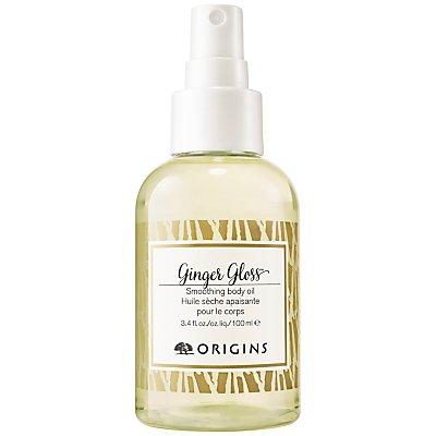 Origins Ginger Gloss Smoothing Body Oil, 100ml