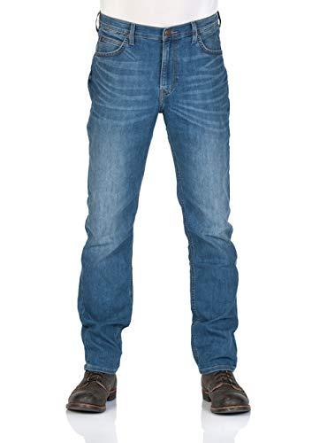 Lee Herren Relaxed Fit Jean (Lee Herren Jeans Morton Relaxed Fit - Blau - Blue Light, Größe:W 30 L 30, Farbe:Blue Light (RPOD))
